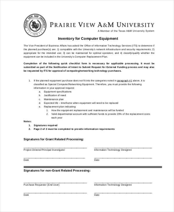 32+ Inventory Templates in PDF | Free & Premium Templates