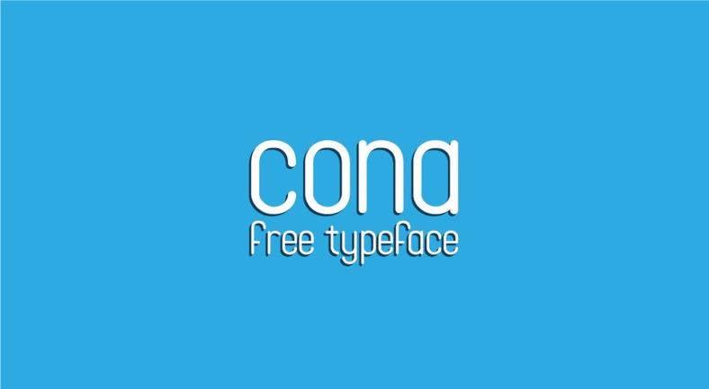 cona-typeface