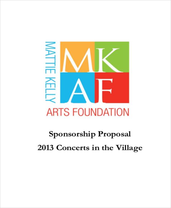 concert proposal