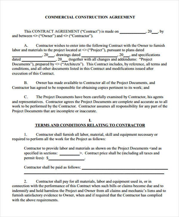 construction agreement5