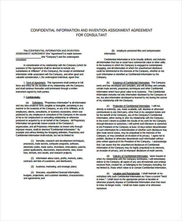 consulting agreement1