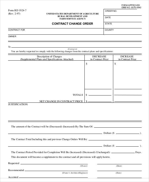 contract change order1