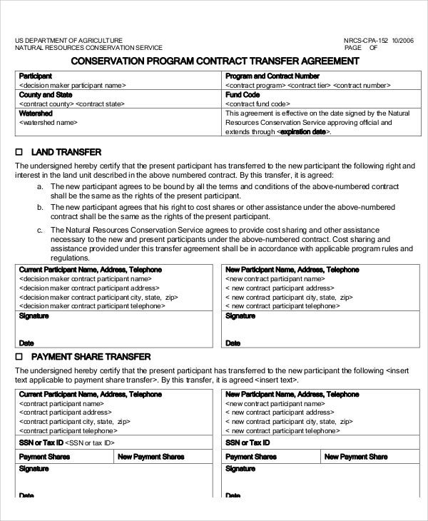 Individual Material Transfer Agreement  MrTransfer Agreement