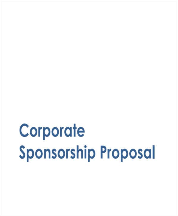 corporate sponsorship proposal in pdf1