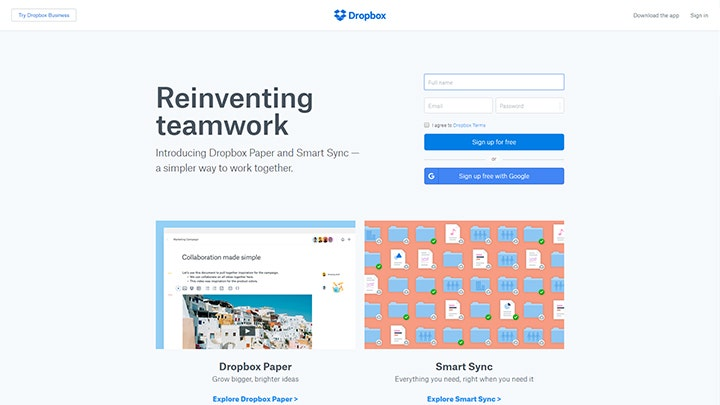corporate-website-dropbox-company-home
