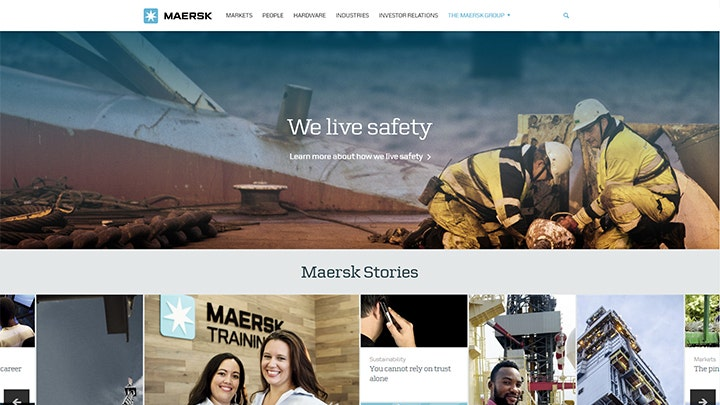 corporate-website-maersk-company-home