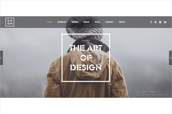 creative responsive minimal drupal themes