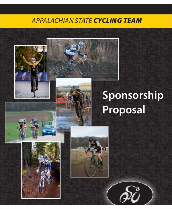 9  team sponsorship proposal templates