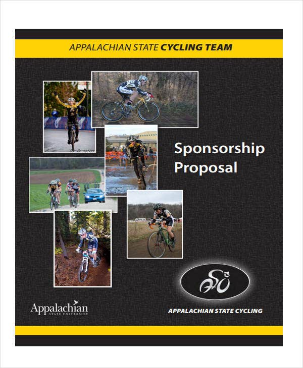 Team Sponsorship Proposal Template - 12+ Free Word, PDF