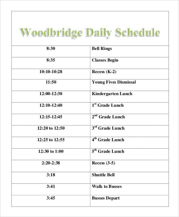 daily school2