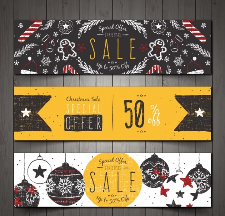 discount-vintage-banner