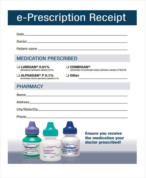 doctor prescription