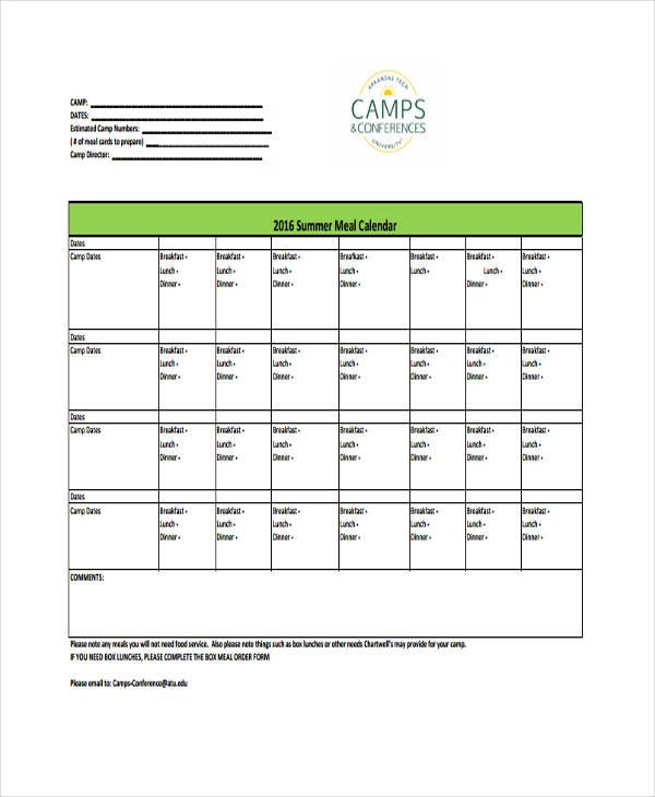 editable calendar template1