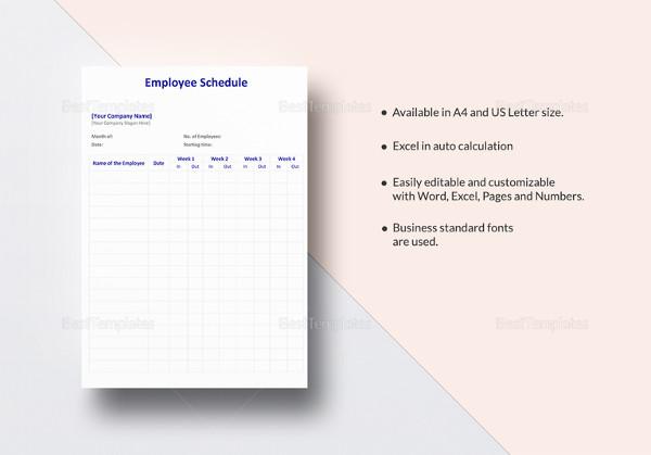 editable-employee-schedule-template