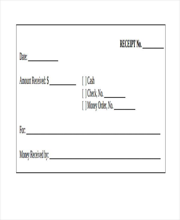 editable receipt