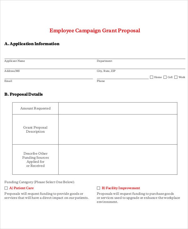 employee campaign grant
