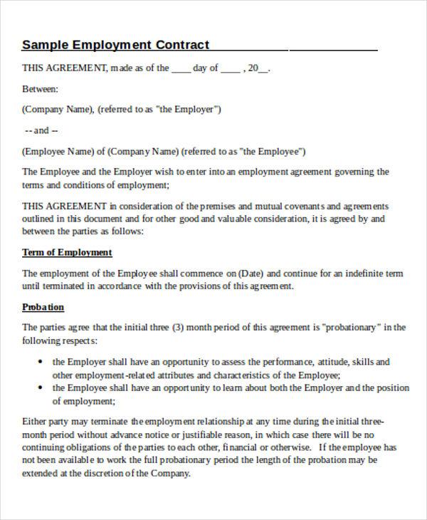 employee contract5