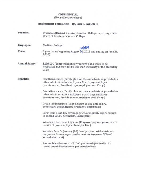 employee term