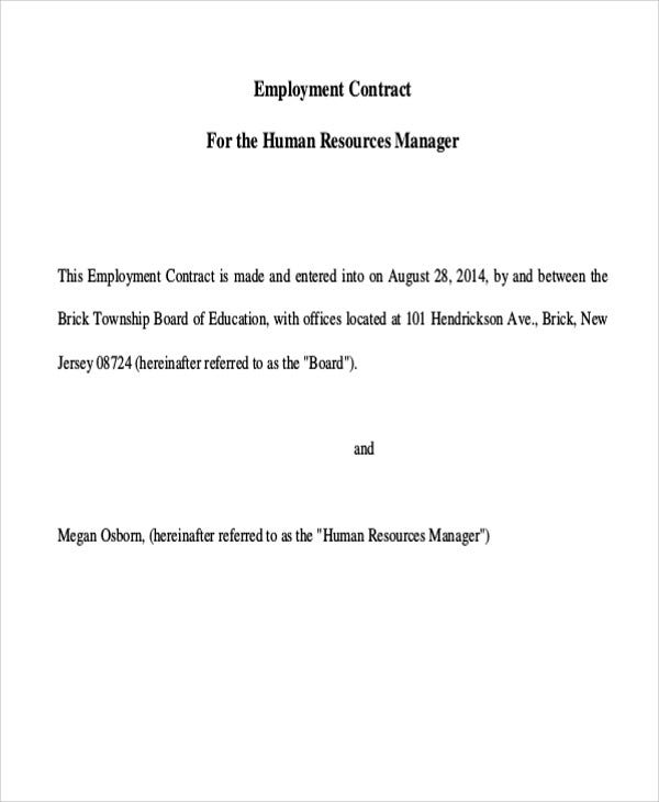 employment contract5