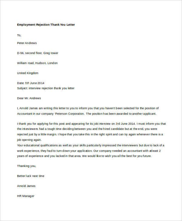 employment thank you letter1