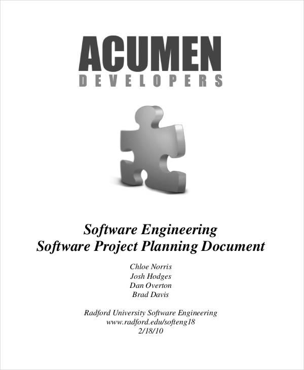 engineering project plan