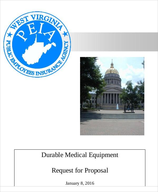 equipment proposal