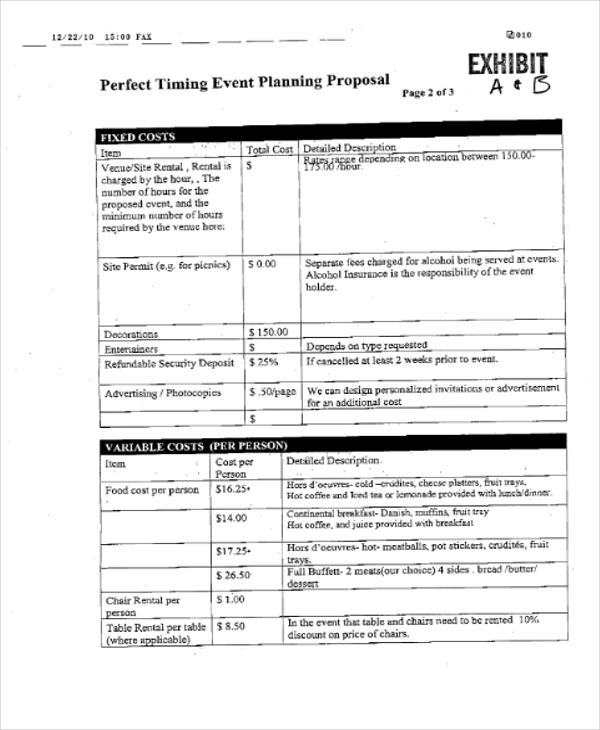 event planning5