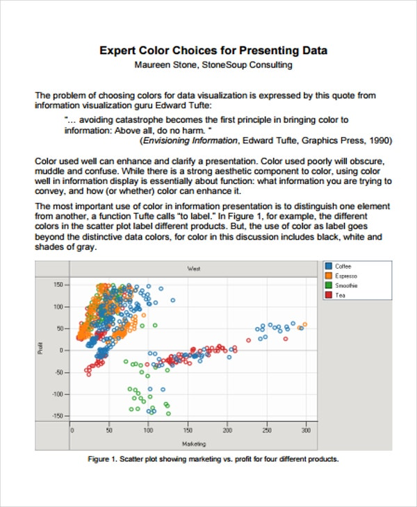 excel chart color