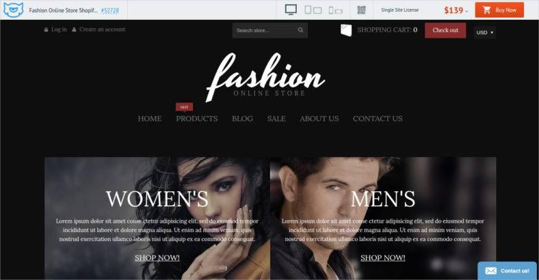 fashion-online-store