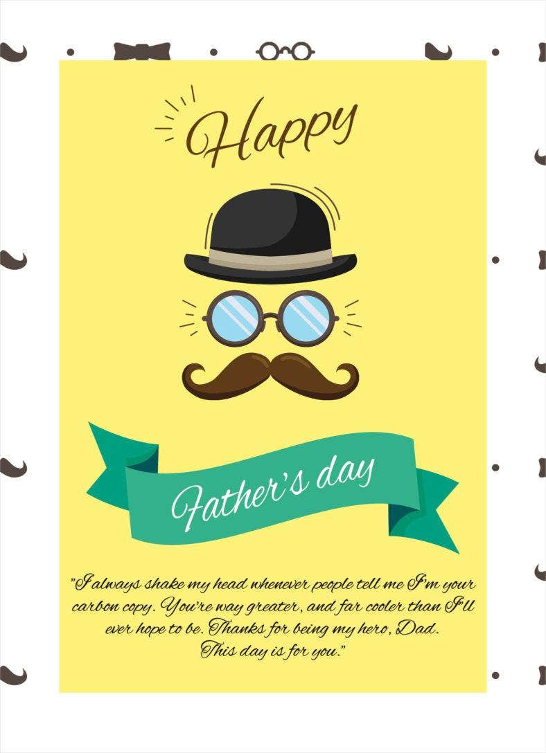 Custom Father's Day Thank-You Note
