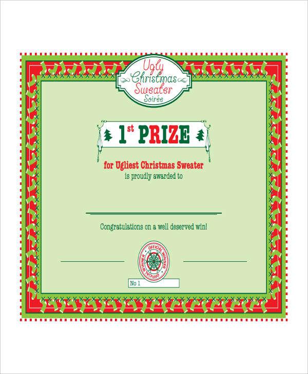 26 printable certificate templates free premium templates for Winners certificate template