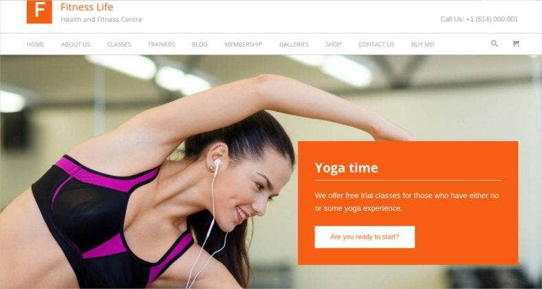 fitness wordpress theme 788x421