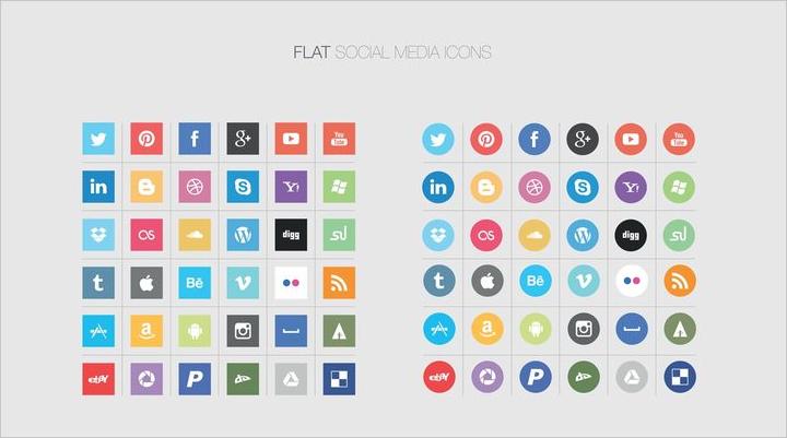 flat-social-media