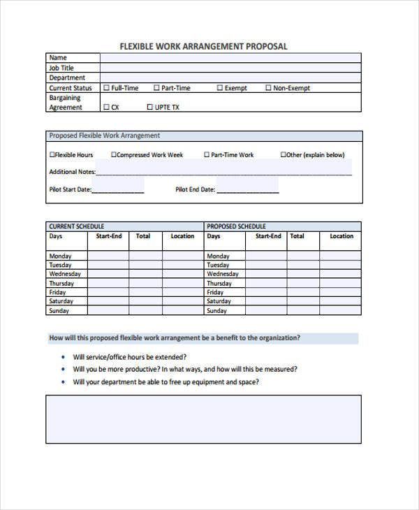 44  proposal templates