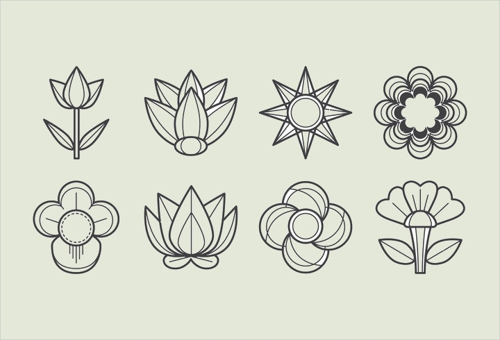 flower-icon-vector