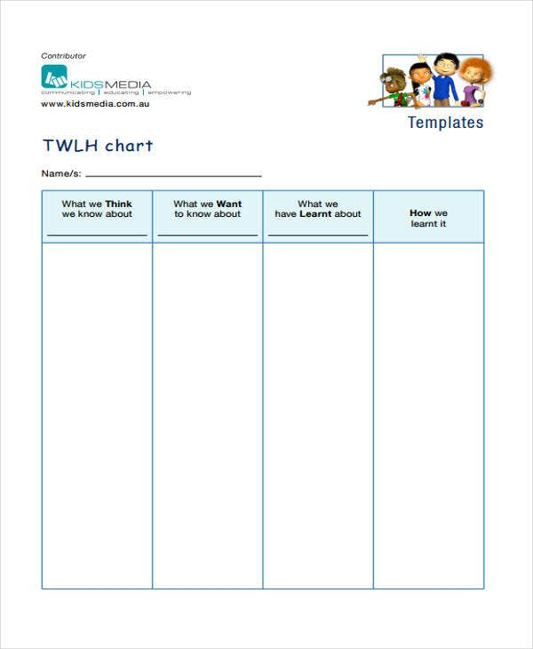 free chart template