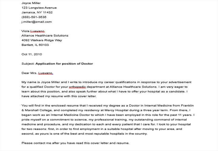 application letter for psychometrician