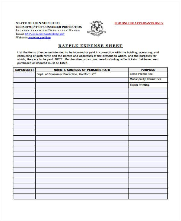 Sample Raffle Sheet Free Printable Raffle Ticket Template Raffle