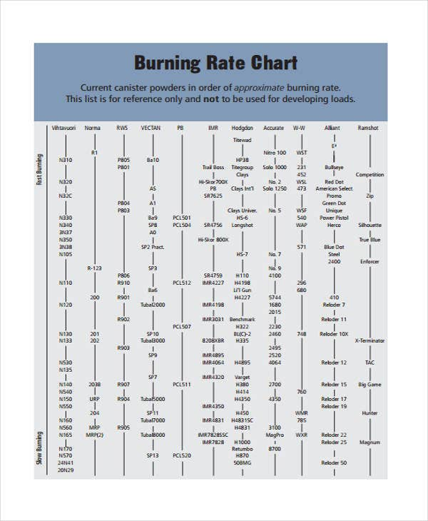 Rate Chart Templates   Free Word Pdf Format Download  Free