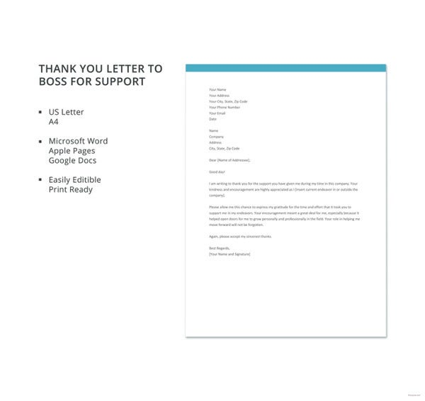 free-thank-you-letter-to-boss-for-support-template