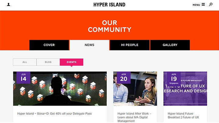 fresh content hyper island
