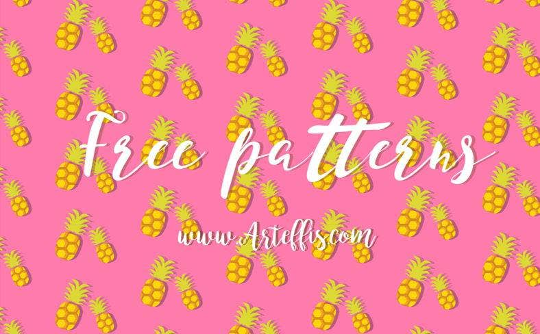fruit illustrator pattern 788x488