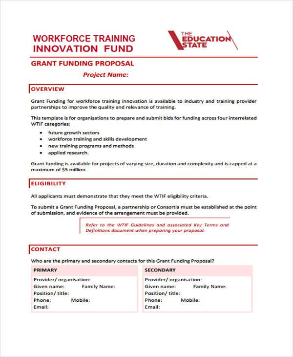 funding proposal2