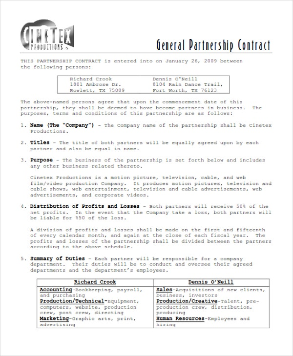 general partnership1