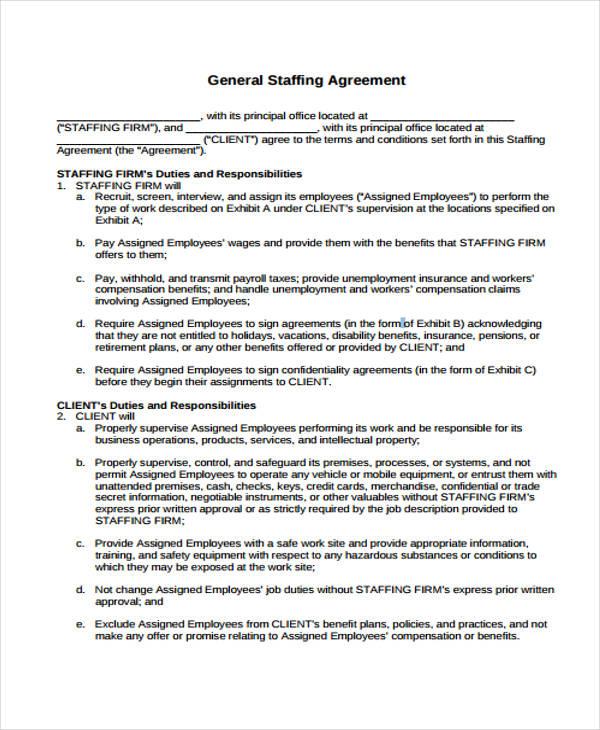 general staffing