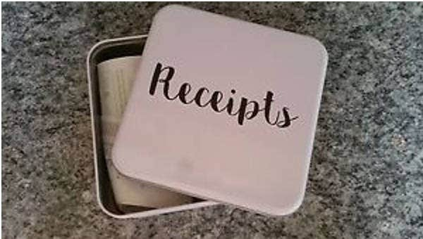 gift receipt templates sample example