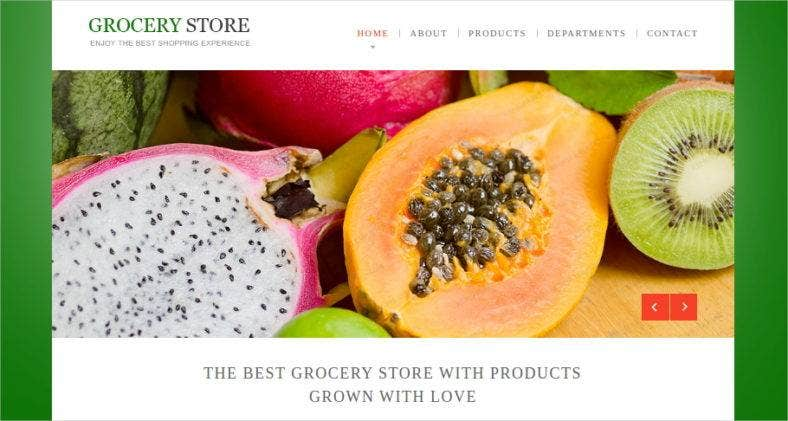 grocery-store-template