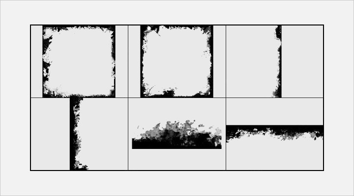 grunge-frame-brush