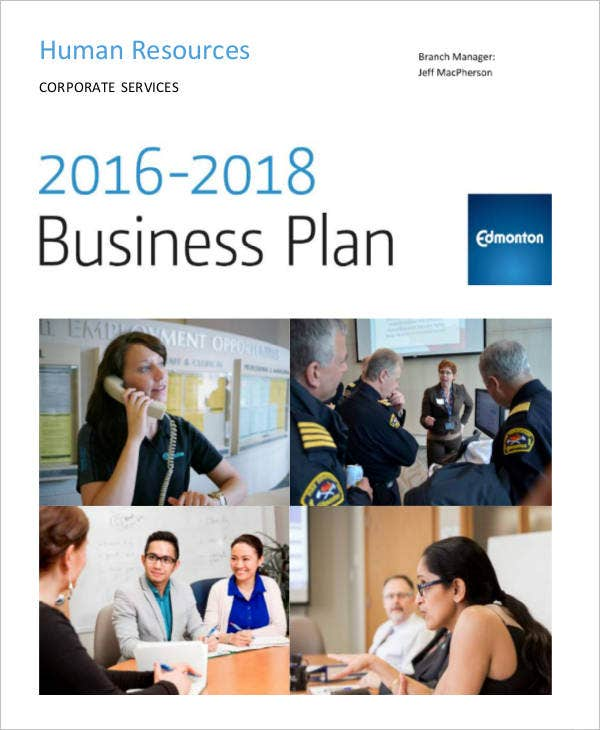 hr annual business plan