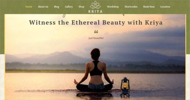 health-yoga-wordpress-theme